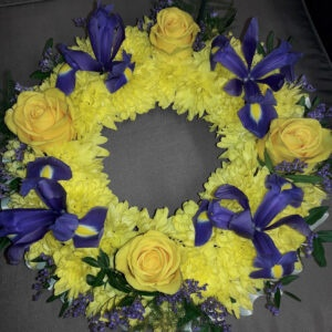 Fresh Flower Wreath-XENA