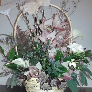 Fresh Flowers Basket-BREA