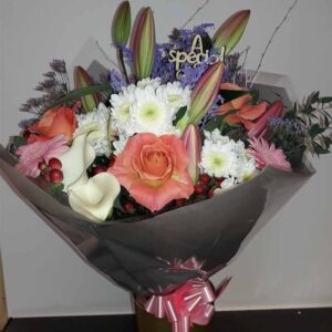 Fresh Flowers Bouquet-CAILYN