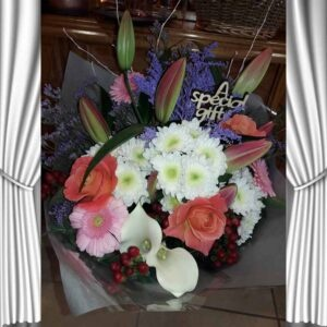 Fresh Flowers Bouquet-CALIA