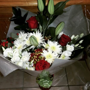 Fresh Flowers Bouquet-CHARLENE