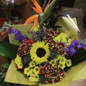 Fresh Flowers Bouquet- CLEO