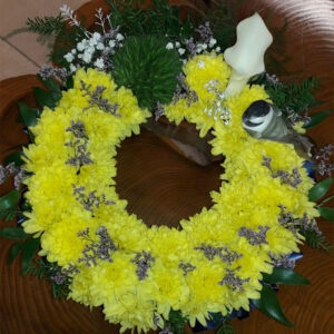 Fresh Flower Wreath-ZADIE